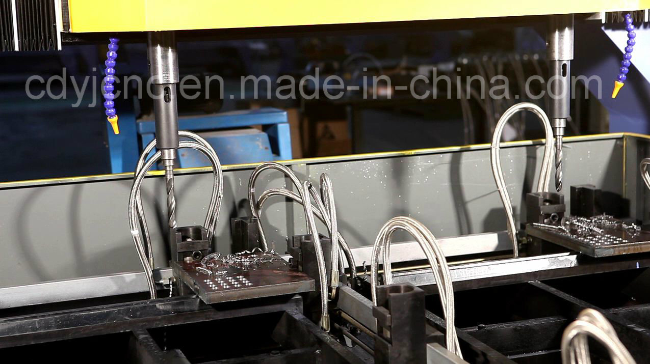 Double Spindle CNC Plate Drilling Machine pictures & photos
