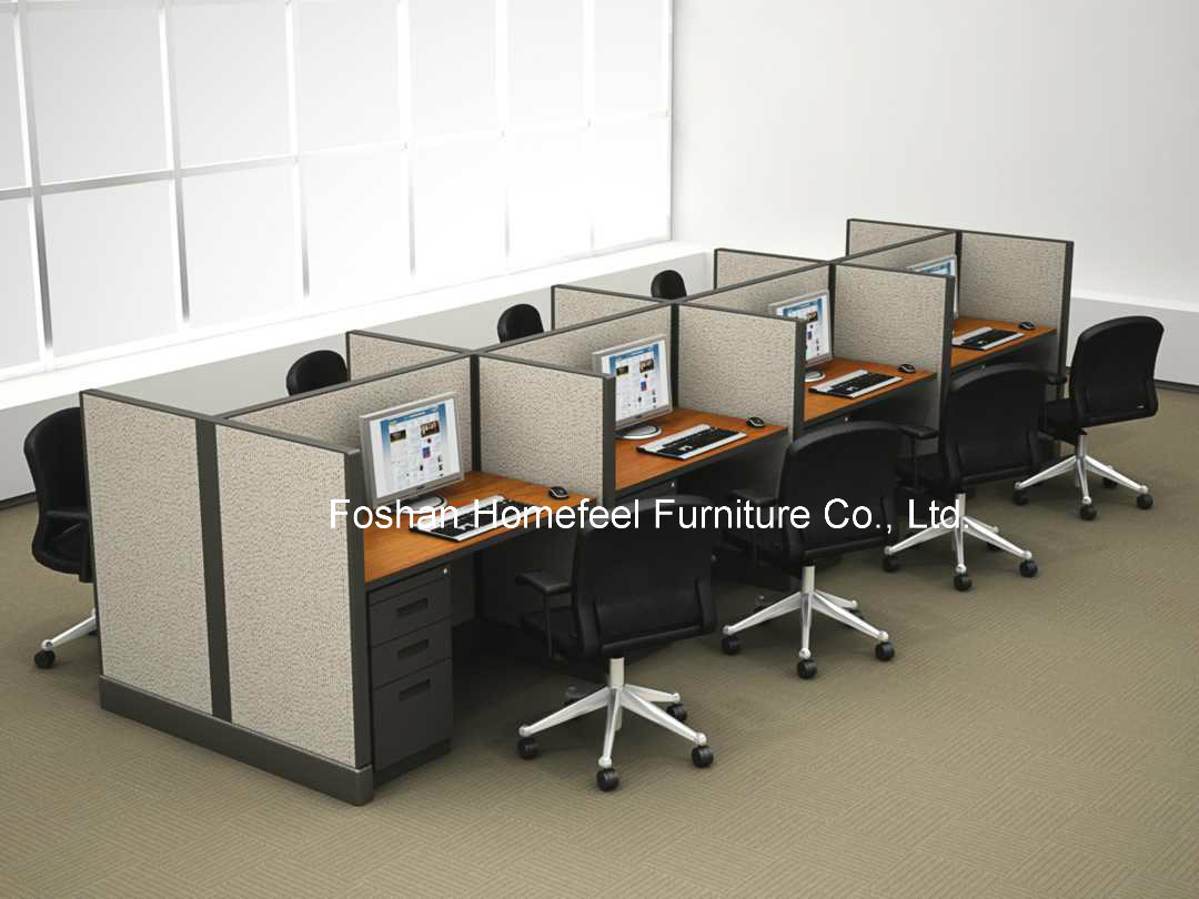 Call Center Computer Workstation Tables In Office Furniture Hf Ge01