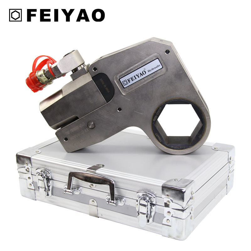Small Torque Wrench >> Hot Item High Precision Small Electric Steel Hollow Hydraulic Torque Wrench