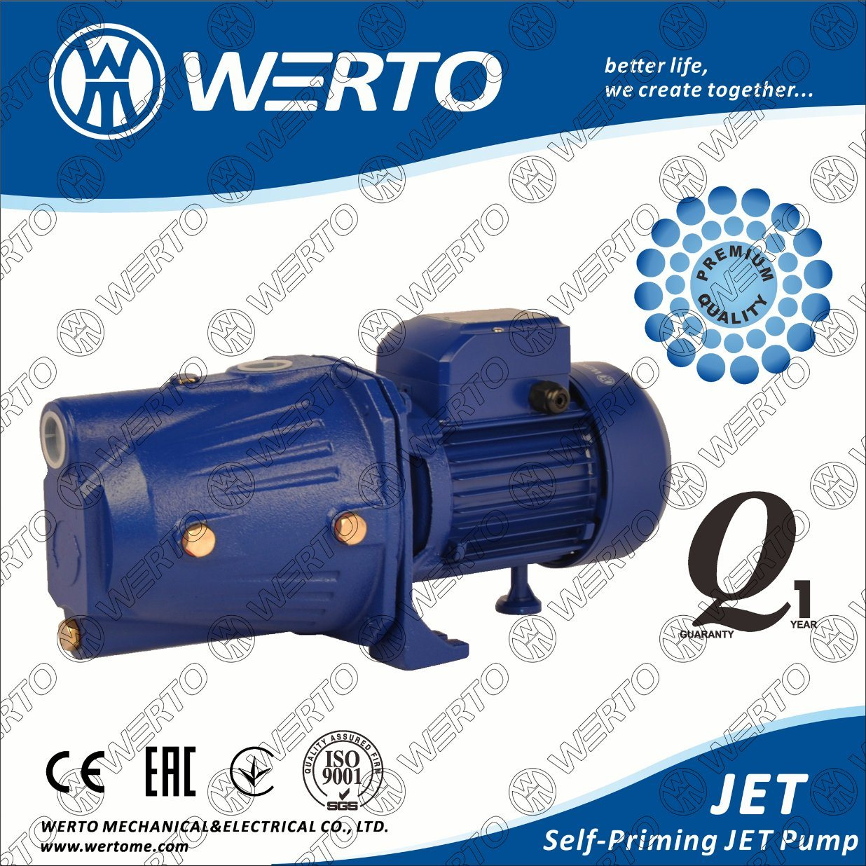 Jet Series Self-Priming Pump Electric Water Pumps (JET60A/80A/100A) pictures & photos