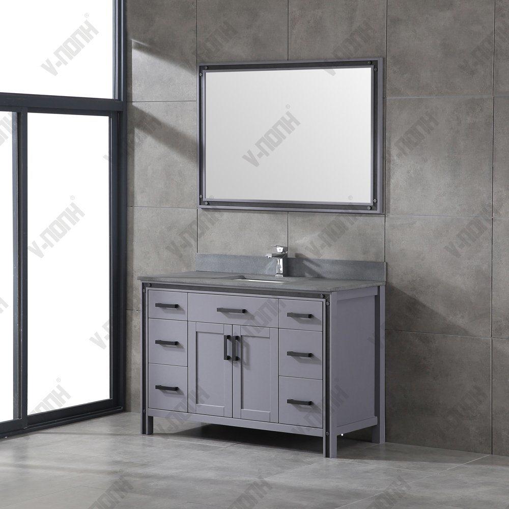 Single Sink Bathroom Vanities, Metal Bathroom Vanities