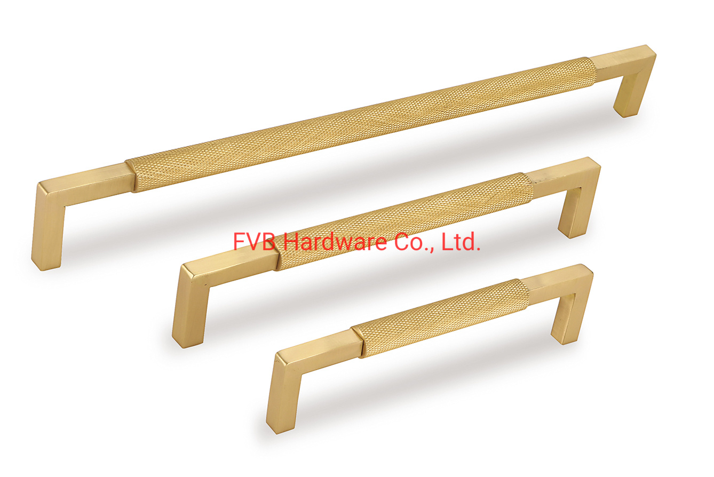 China Brushed Brass Modern Cabinet Hardware T Bar Knobs Dresser