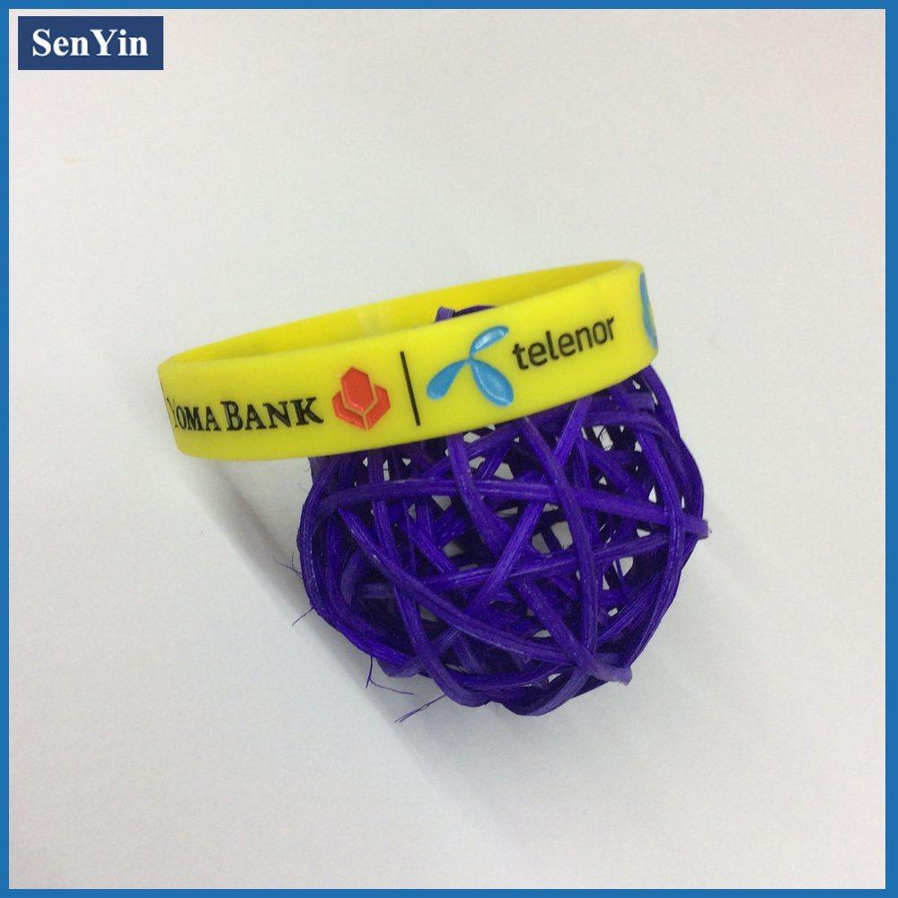High Quality Custom Plastic Bracelets
