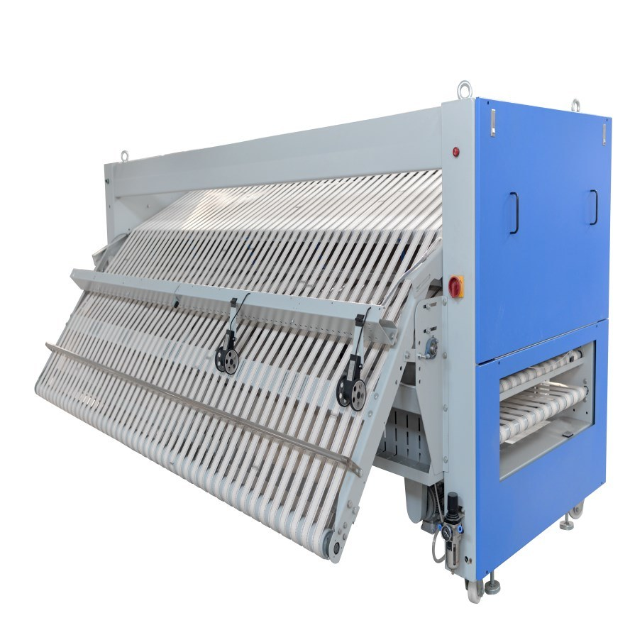 9c73579f533 China Zd Series Auto Control Washing Equipment Clothes Fabric Folding  Machine Hospital Factory Hotel Industrial Commercial Use Folder - China  Folding ...