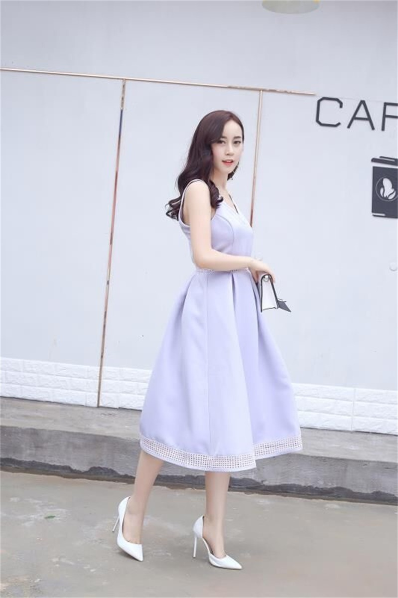 Newest 100% Polyester Fashion Sexy Dress for Young Girls