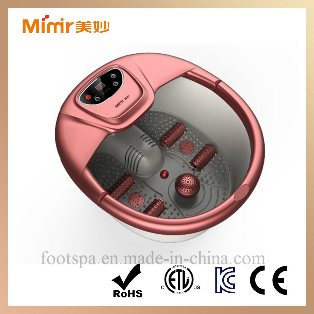 Mimir Foot Massager with Heating Bath