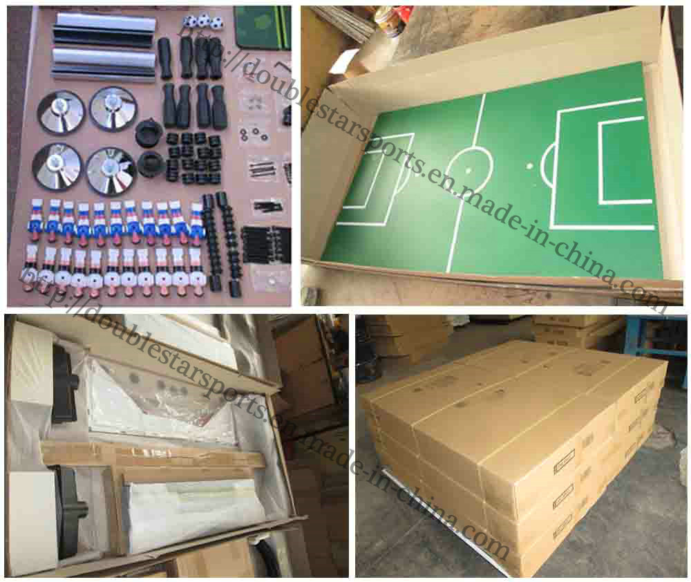 Hot Sale MDF Soccer Football Table with C Iron Leg pictures & photos