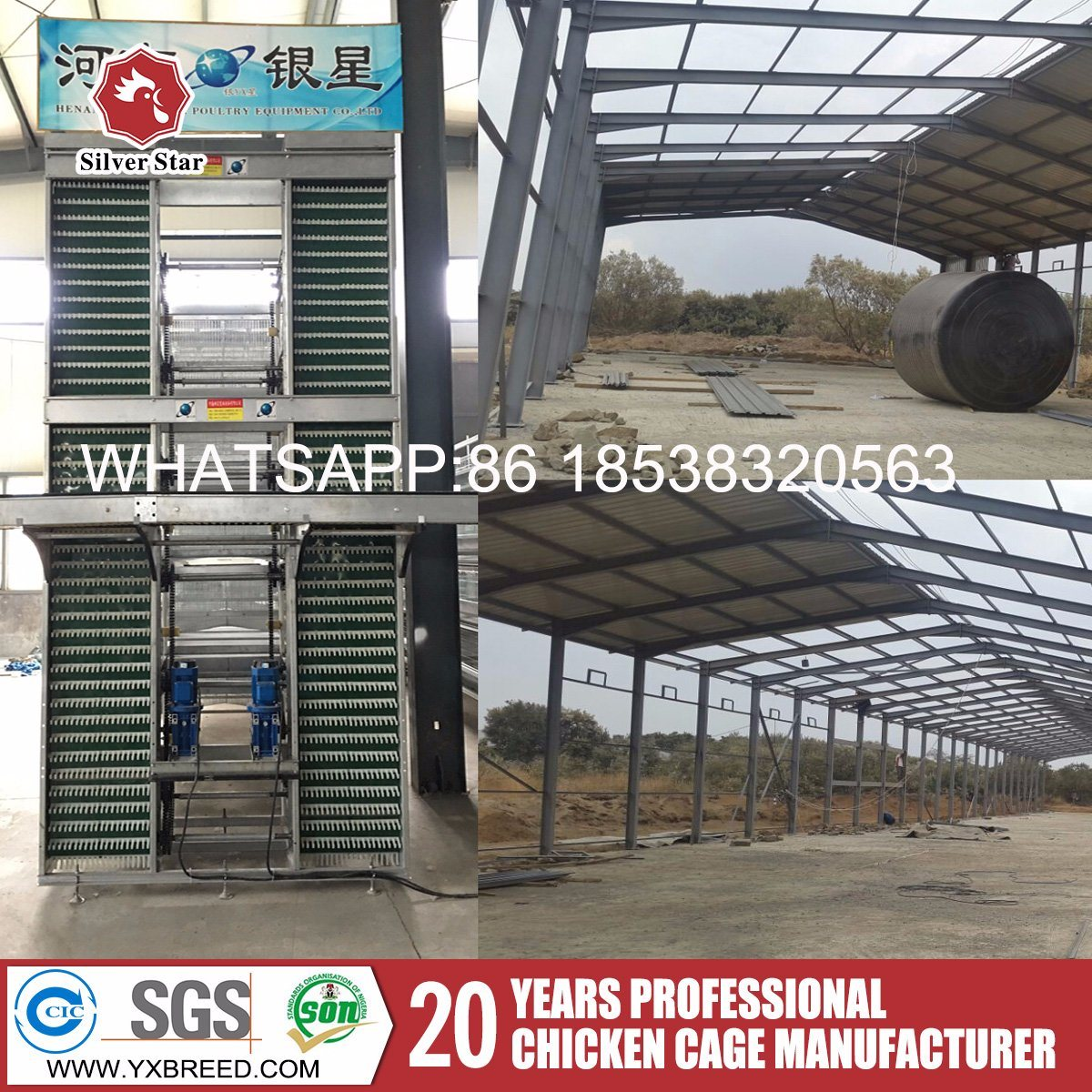 China Best Quality Wire Mesh Cage for Chicken Layer Farm in Kenya ...