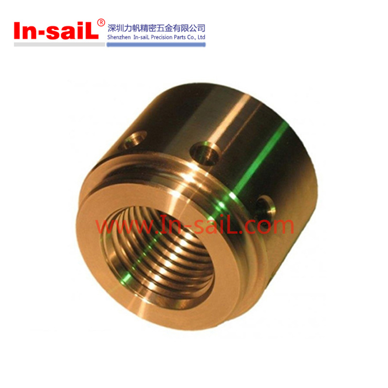 China CNC Machining Service CNC Turning Brass Parts Manufacturer