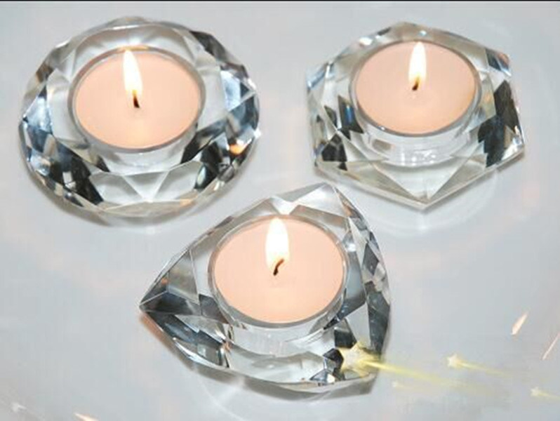 Newest Crystal Candle Holders Home Decoration Candleholder