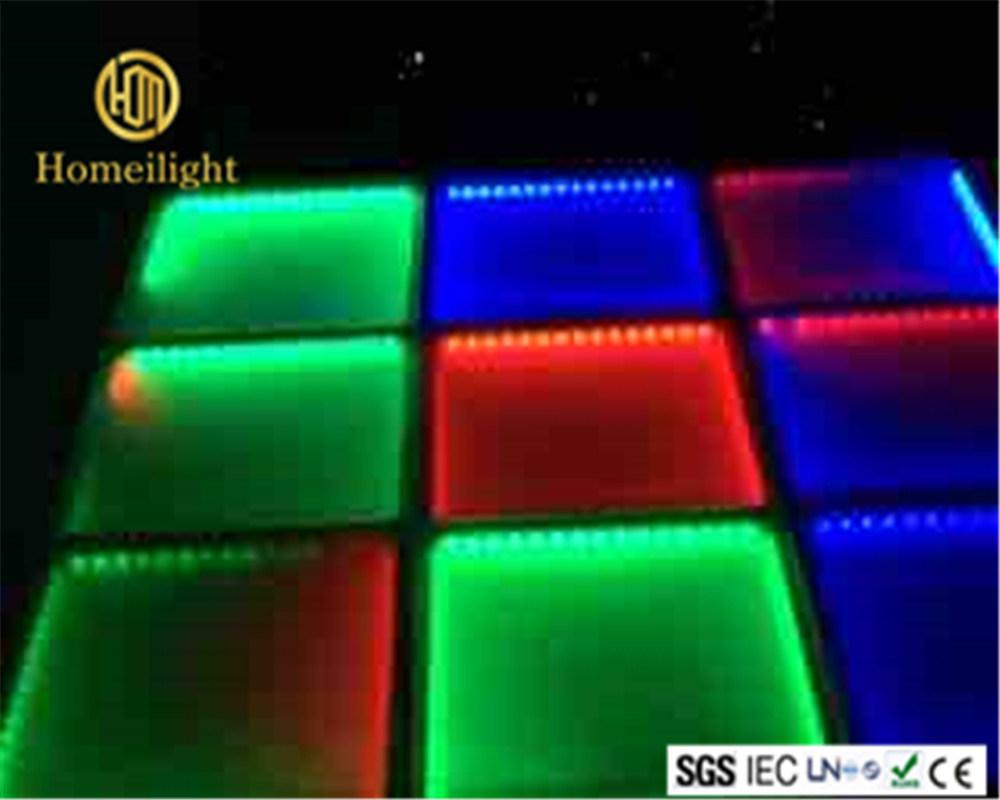 China Rgb Dance Floor 5050cm Disco Party Led Panel Tile Photos
