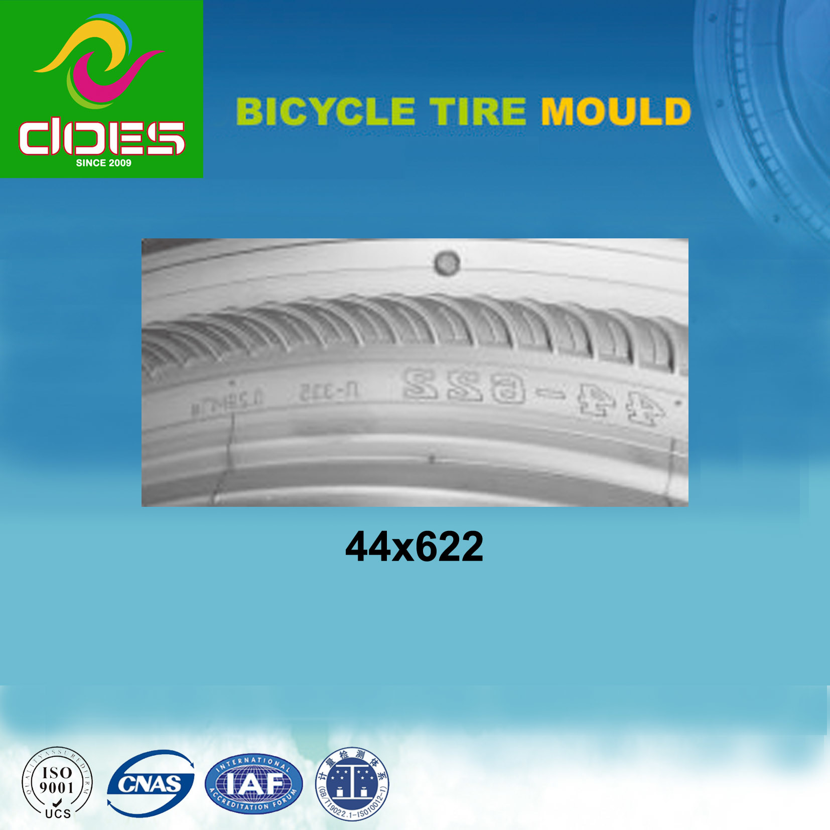 44X622 Bicycle Tyre Mould