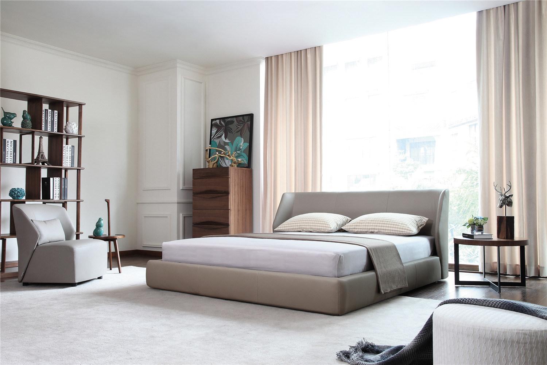 [Hot Item] New Design White High Gloss Bedroom Set