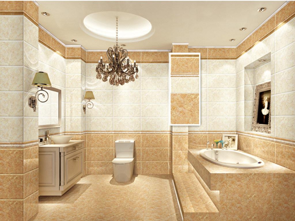 China Vogue Style Bathroom Wall Glazed Tile - China Ceramics Floor ...