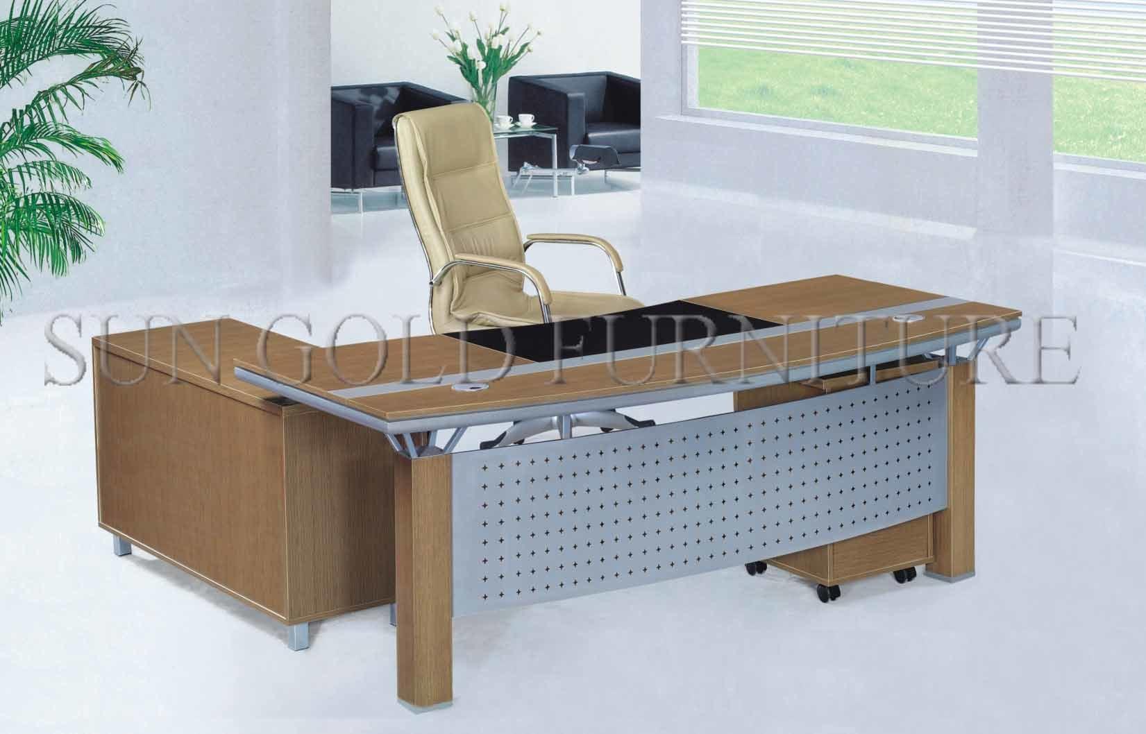 [Hot Item] Modern Office Italian Table Modular Design Melamine Director  Desk (SZ-OD360)