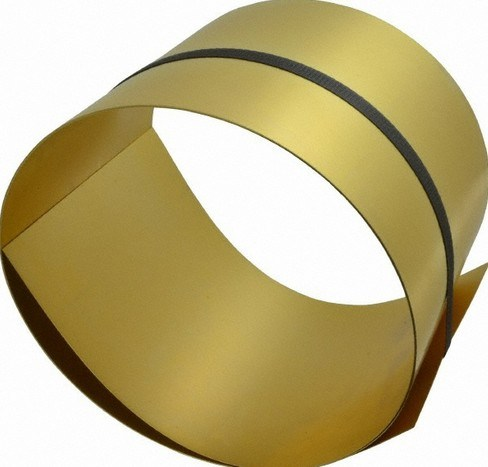 Brass Laminated Steel Tape H65/C27000