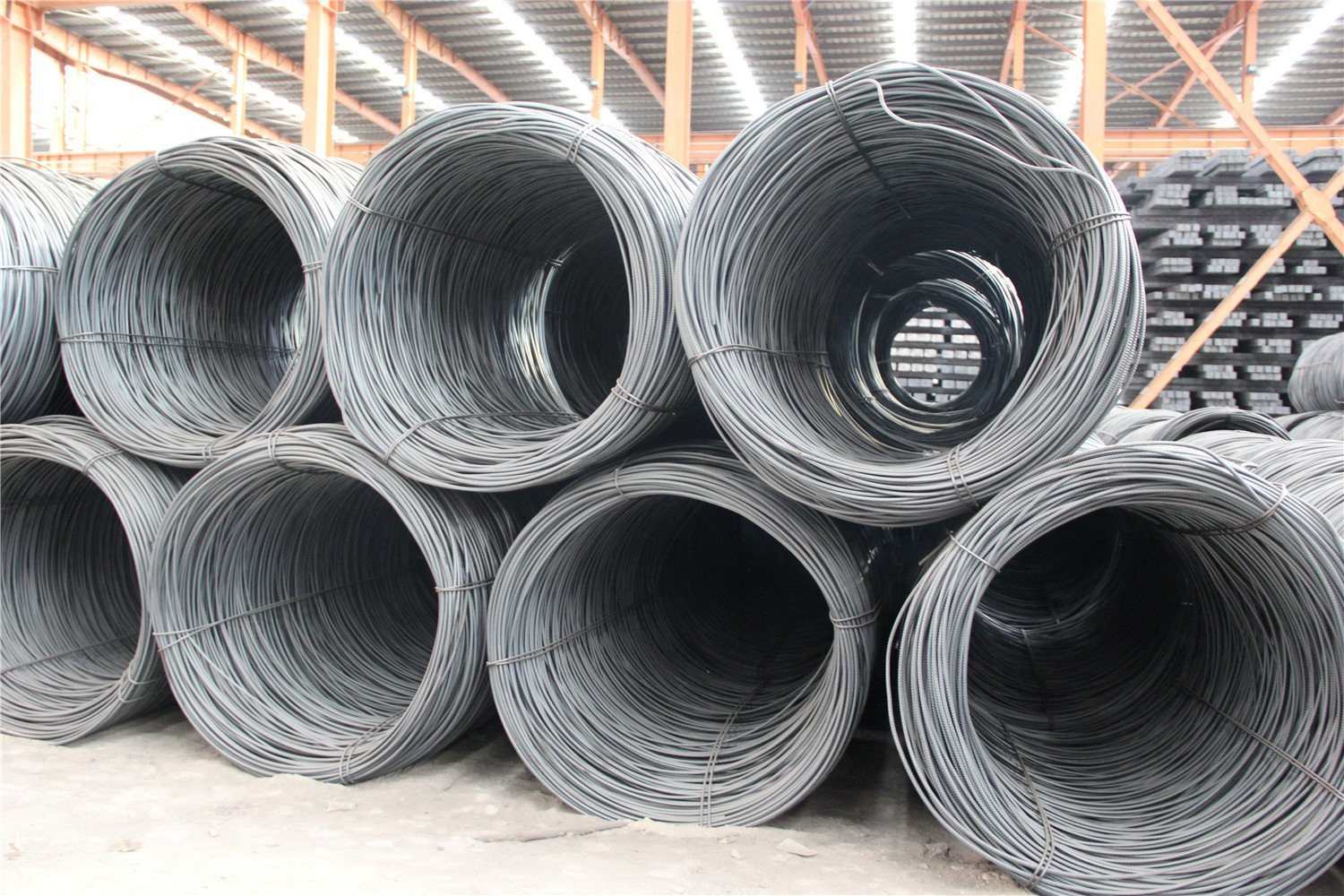 China 4.5mm Steel Wire Rod in Coils - China Wire Rod, Wire Rods