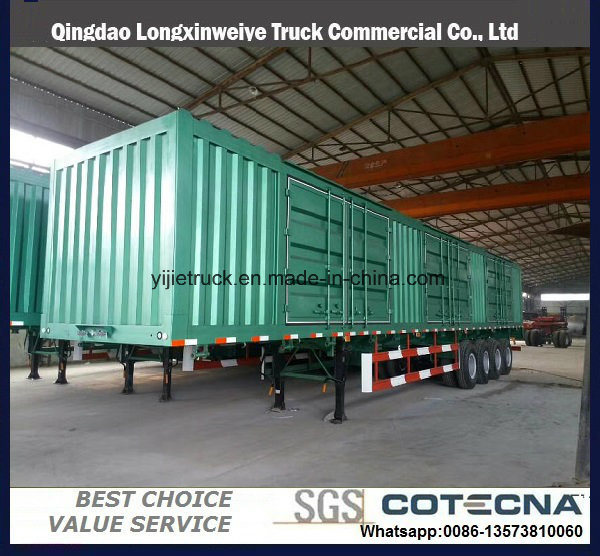China 3 Axle Stake/Cargo Twist Locks Carrying Container Semi