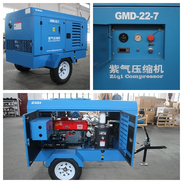 22kw Portable Diesel Air Compressor pictures & photos