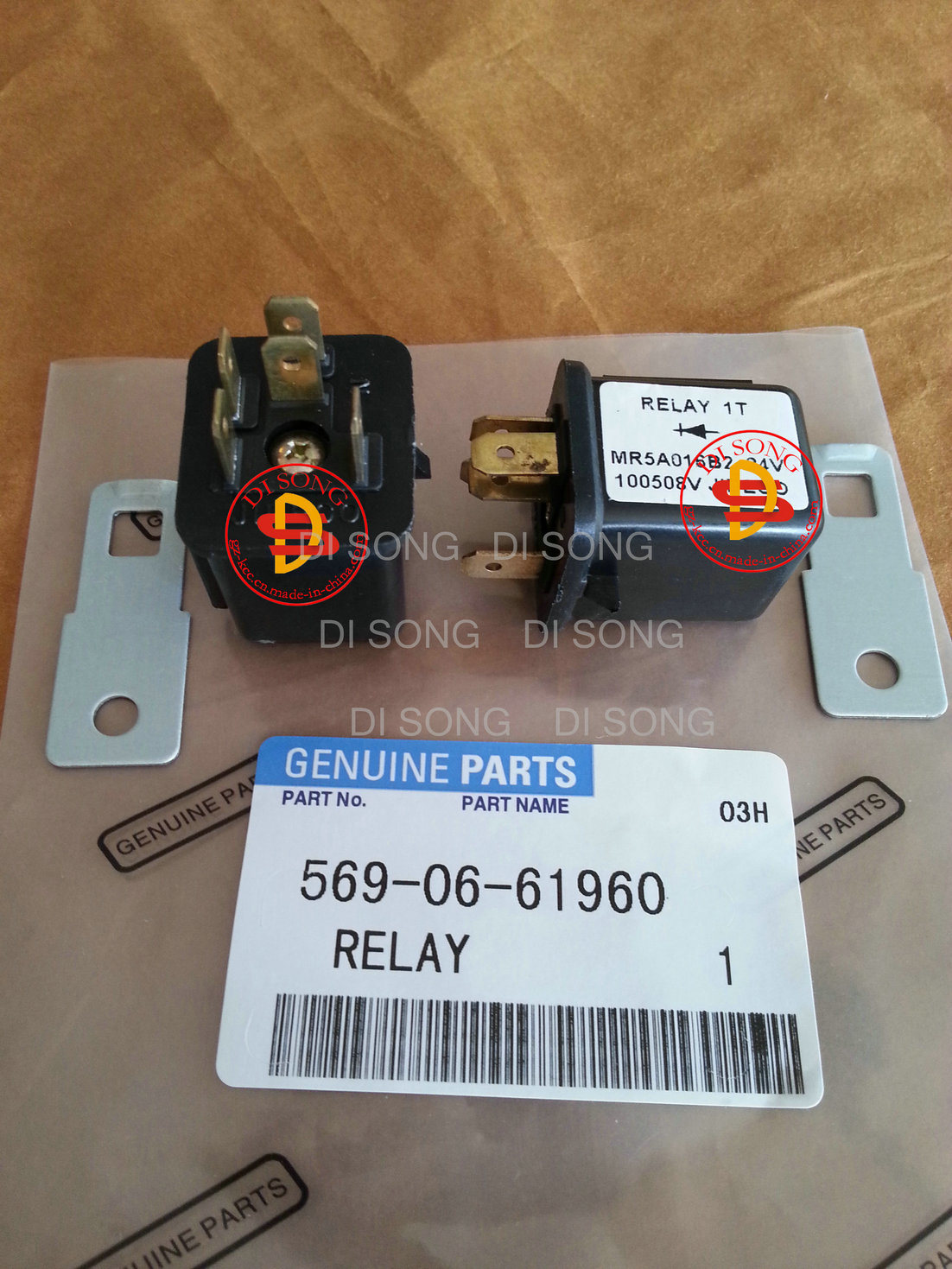 China Komatsu Spare Parts, Relay (569-06-61960) with OEM Quality - China  Relay, Switch