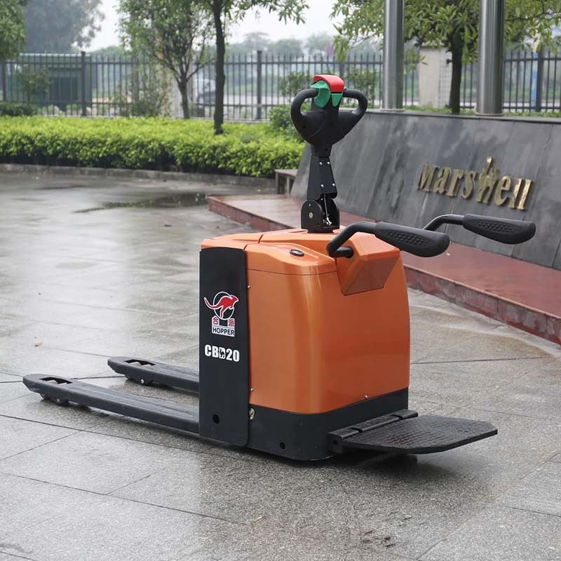 China OEM Manufacturers 2.0 Ton Fully Electric Pallet Truck (CBD20) pictures & photos
