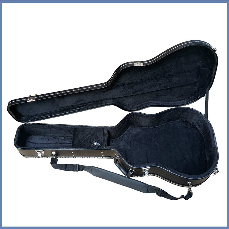 Cheap Black Color Hard Guitar Case