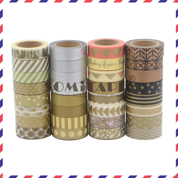 China Somitape Golden And Silver Printed Washi Tape For Diy Craft And Scrapbooking Use Photos Pictures Made In China Com,Personal Paper Shredders Walmart
