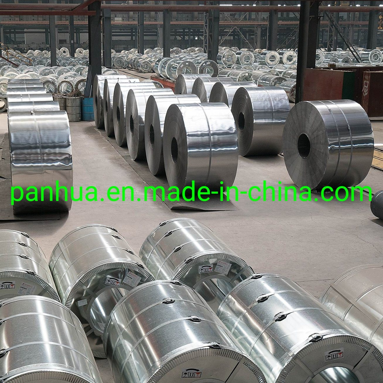 SPCC Dx51 Zinc Cold Rolled/Hot Dipped Galvanized Steel Coil pictures & photos