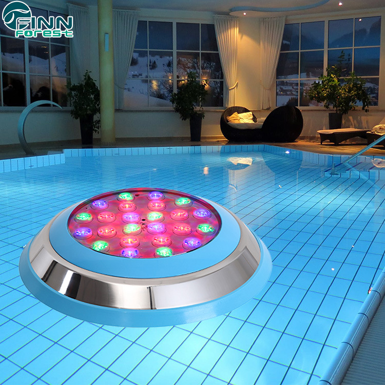 [Hot Item] Multi Color Wall-Installed LED Swimming Pool Underwater Light