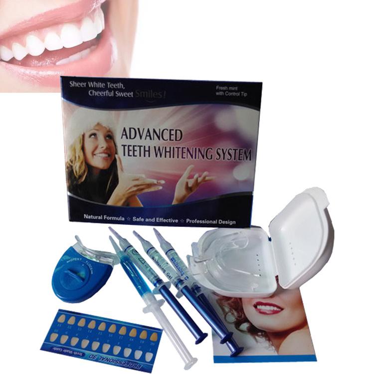 China Dental Care Teeth Whitening Kit Gel Teeth Whitening Led