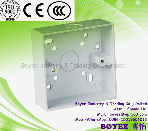 043092c10df China 3X3 Plastic PVC Electrical Switch or Socket Junction Boxes ...
