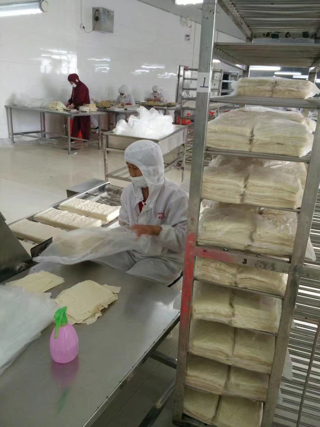 100% Hand Made Triangle Vegetable Samosas 12.5g/piece * 102piece/Carton Box pictures & photos