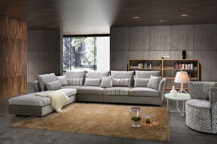China Modern Italian Furniture Fabric Sofas, Luxury ...