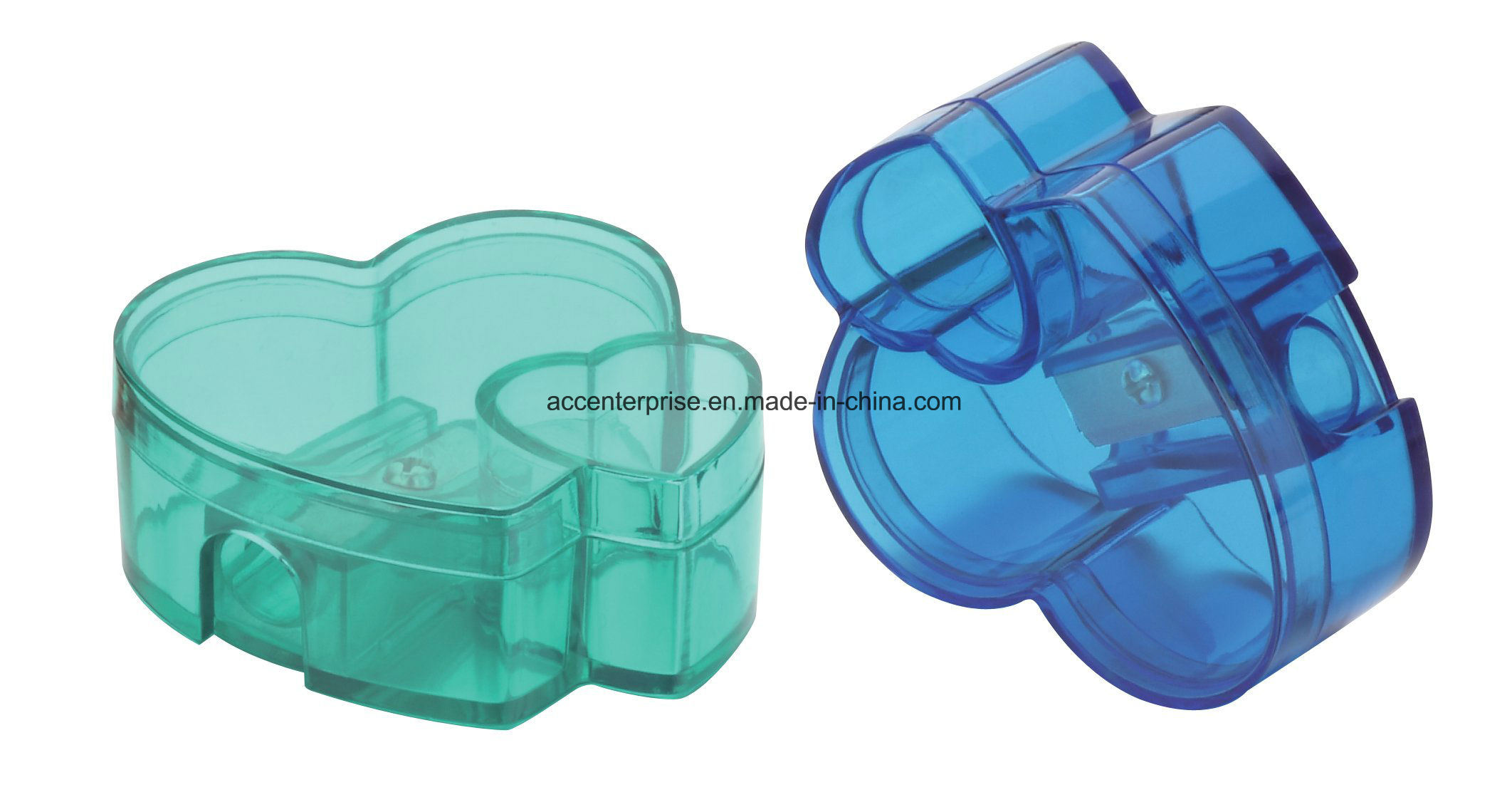 All Shaped Plastic Pencil Sharpener
