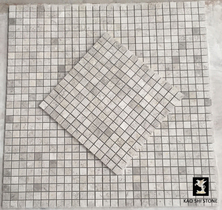 Hot Item High Quality Artic Silver Marble Mosaic For Bathroom Tile