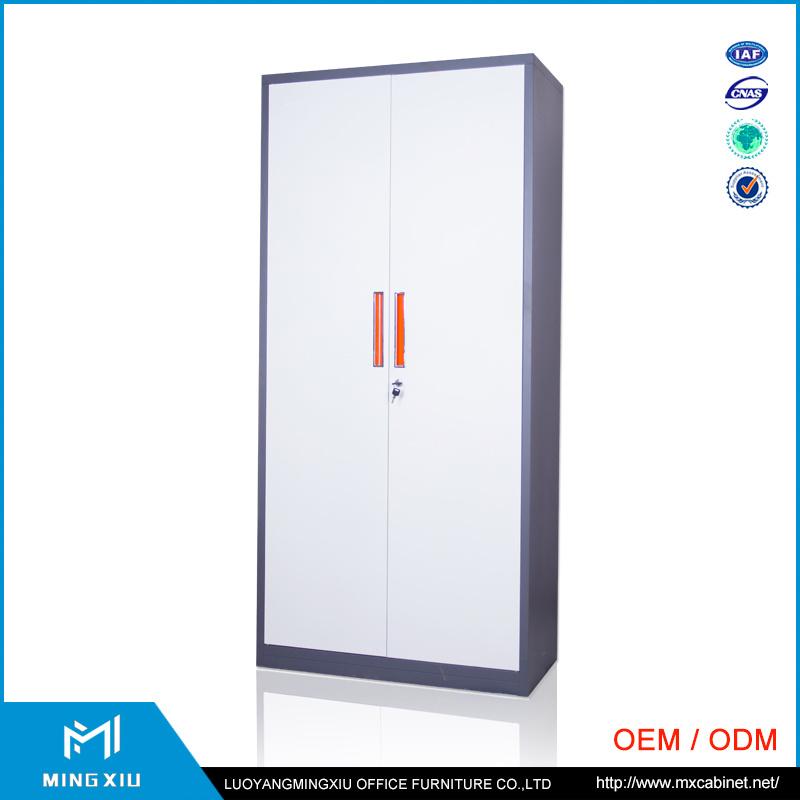 China Luoyang Mingxiu Low Price 2 Door Metal Locker Style Storage