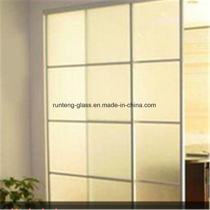 China Tinted Frosting Glass Frosted Acid Etched Mirror