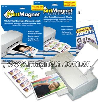 graphic about Printable Magnetic Sheets named China Hottest Inkjet Printable Magnetic Sheet - China