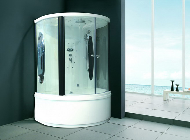 China Steam Shower Room Jacuzzi Sauna For Sale