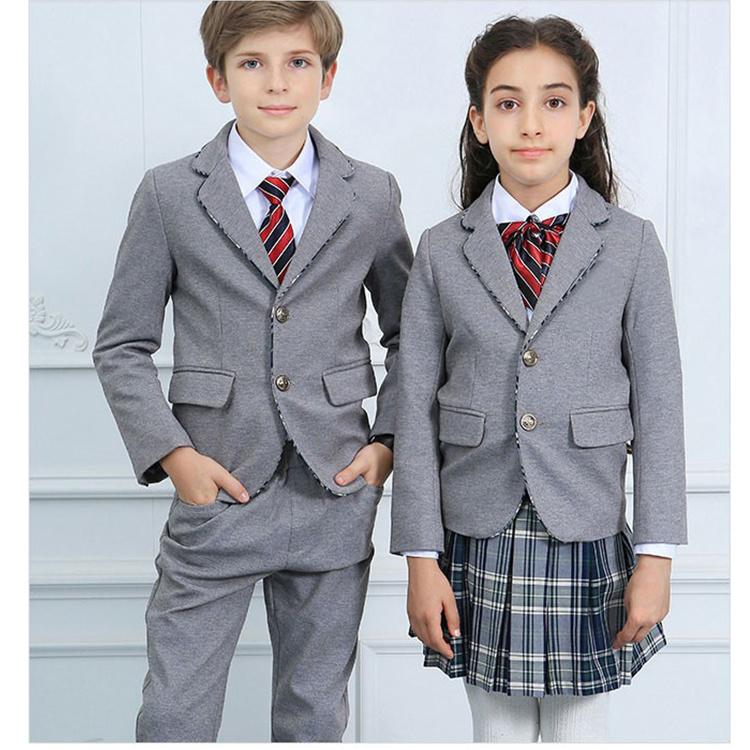 China Polyester Cotton Blazer For School Wear High School Blazers