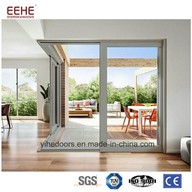 China Aluminium Hanging Sliding Office Windows And Doors Frame With