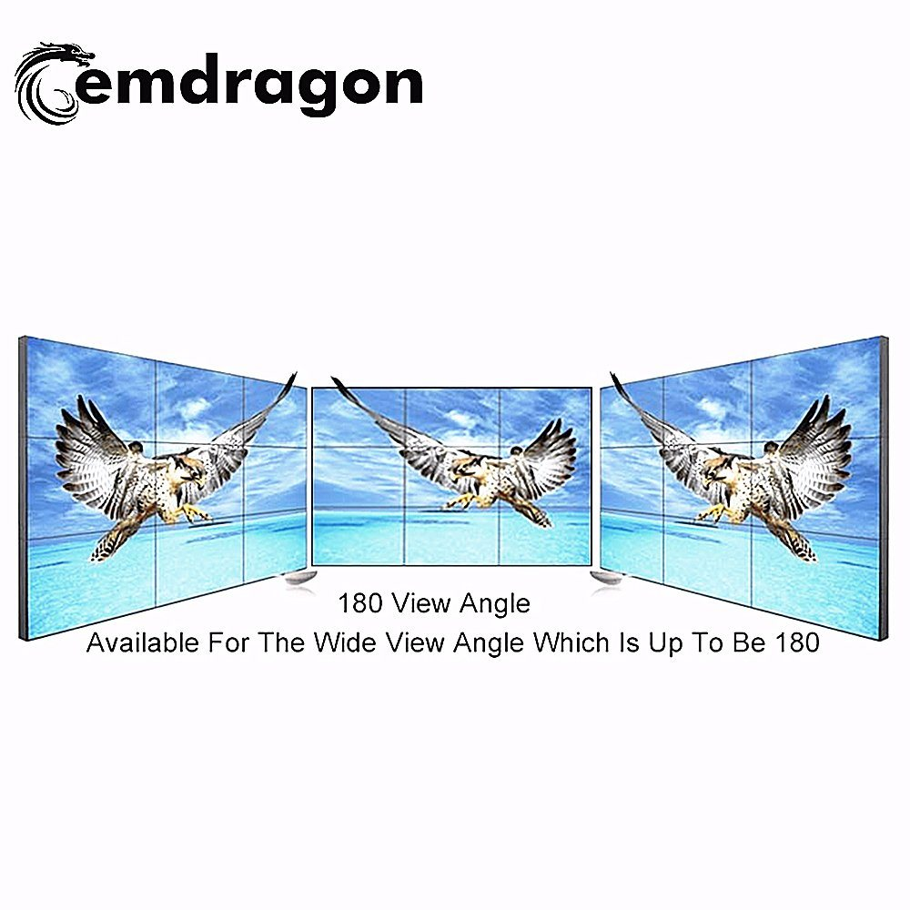 China Advertising Player Ultra Thin Bezel LCD Video Wall 46