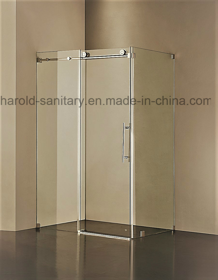 China Dia 55mm Stainless Steel Roller Sliding Shower Door China