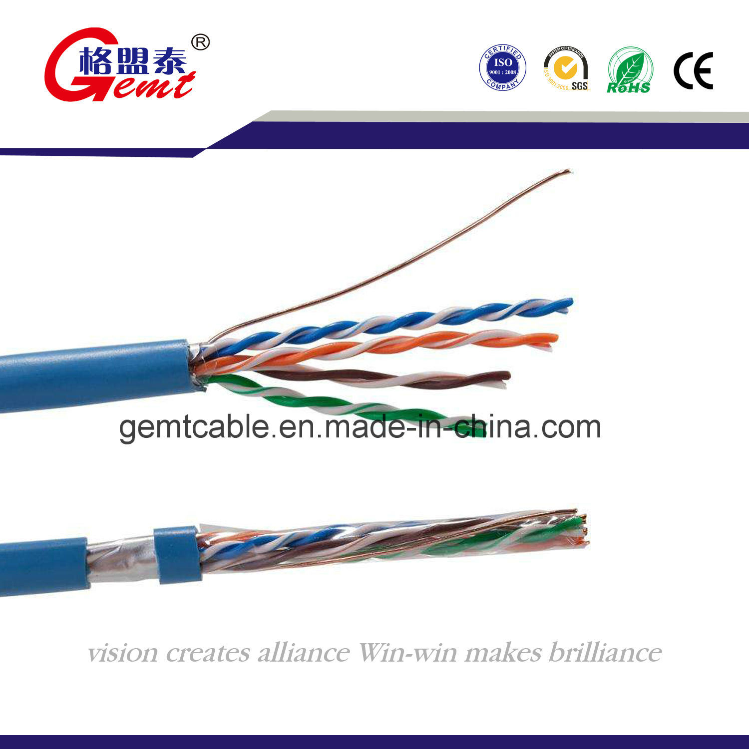China High Quality Ice Standard Utp Cat5e Network Cable How To Make Ethernet 5e Cabble