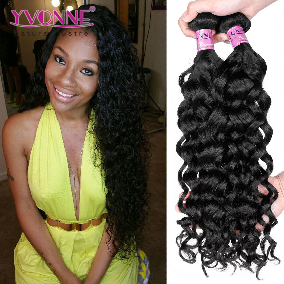 China Yvonne Unprocessed Italian Curly Human Hair Extension Free