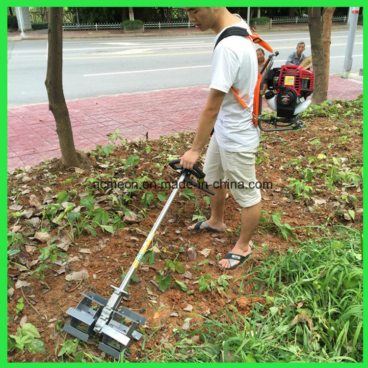 China Knapsack Petrol Hoes Garden Hoe Mini Weeder Rotary