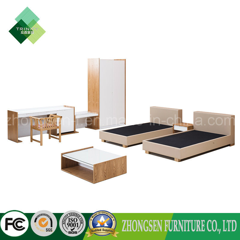 China 2017 Double Bed Designs Sample Room Furniture For Hotel