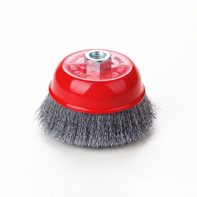 Cheap Price Crimped Wire Cup Brushes pictures & photos