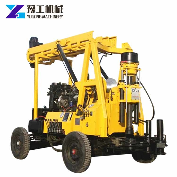 [Hot Item] One Man Operating 300m Water Well Bore Hole Drilling Rig