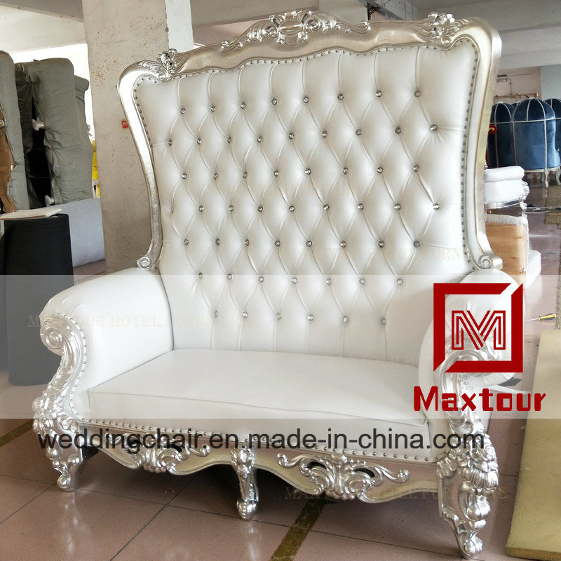 Superb Hot Item Double Seat King Throne Sofa Chair For Sale Gmtry Best Dining Table And Chair Ideas Images Gmtryco